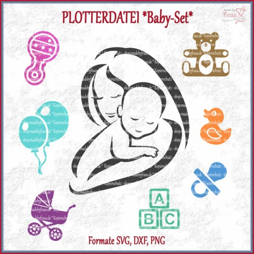 Baby-Set *Plotterdatei -  Motive