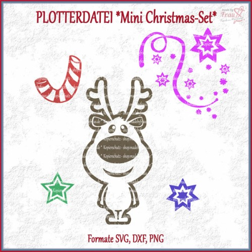 Mini-Christmas-Set *Plotterdatei