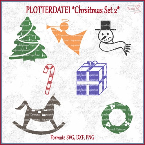 Christmas-Set 2 *Plotterdatei