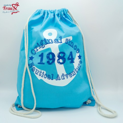 *Original since 1984 Nautical Adventure* Turnbeutel - Rucksack - Gymbag
