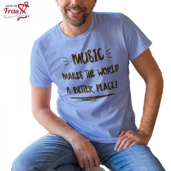 Männer Shirt Music Plotterdatei